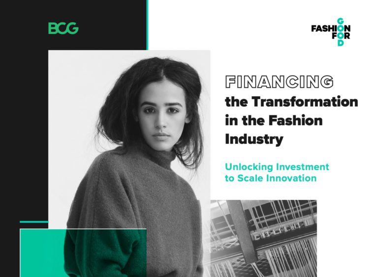 Fashion for Good & BCG launch New Report – Financing the Transformation in Fashion