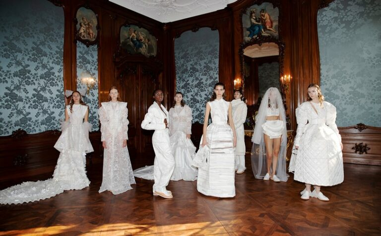 Tess van Zalinge brings digital designs to life in a new demi-couture collection